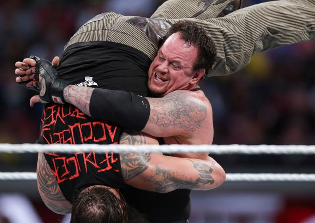 Hell of a wrestling ride comes to an end for The Undertaker