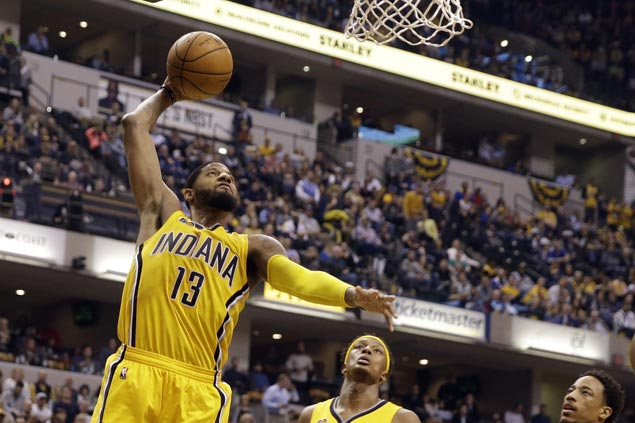 Paul George scores 35 as Pacers erase 19-point deficit to beat Raptors