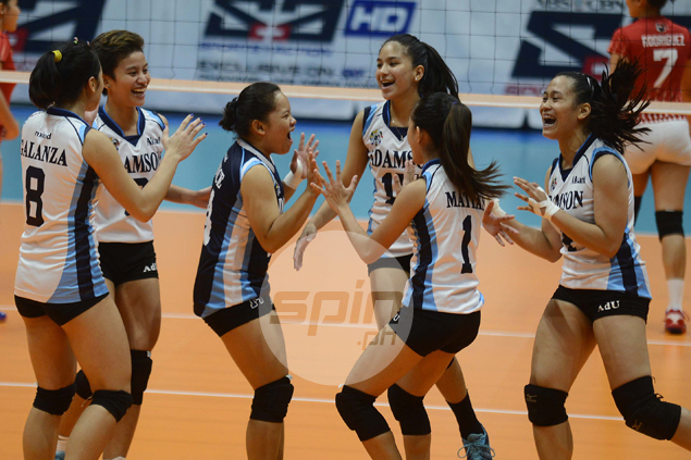 Adamson Lady Falcons save best for last, avoid winless season with win over UE