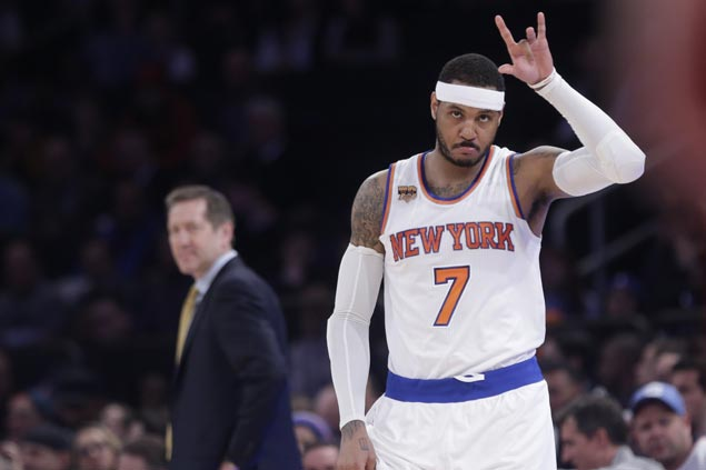 Carmelo Anthony leads third quarter surge as Knicks snap Bulls four-game win streak