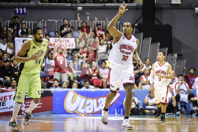 Justin Brownlee takes IV therapy on eve of GlobalPort match to avoid cramping