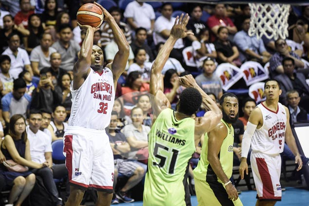 Justin Brownlee rediscovers form just in time to lead Ginebra past GlobalPort