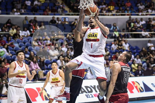 Tony Mitchell leads from front as unbeaten Star Hotshots extend Mahindra misery