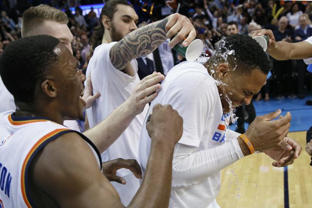 Westbrook on tying 'Big O's' triple-double record: 'I never dreamed about a moment like this'