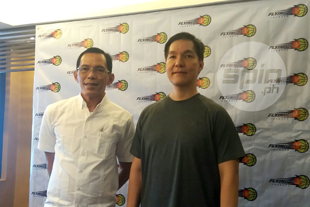Eric Altamirano returns to basketball as head coach of Flying V in PBA D-League