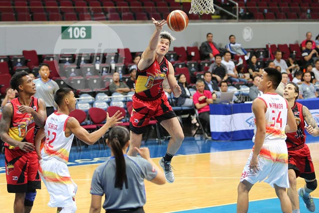 Arnold Van Opstal enjoys love from SMB fans, teammates after rare appearance