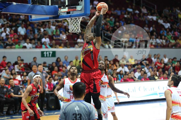 San Miguel Beer encounters little trouble, deals Phoenix a 22-point beating