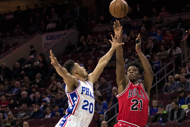 Mirotic, Butler power romp over lowly Sixers as Bulls get playoff push back on track