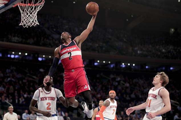 Wizards ride Beal, Wall clutch heroics to avert late-game collapse over feisty Knicks