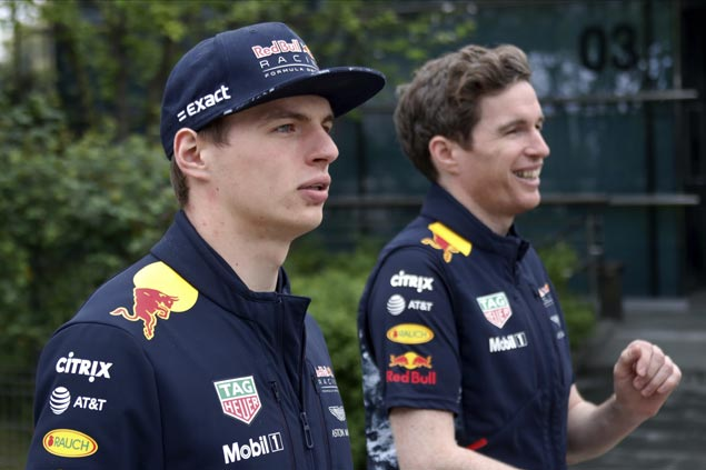Max Verstappen leads first Chinese Grand Prix practice session cut short by heavy rains
