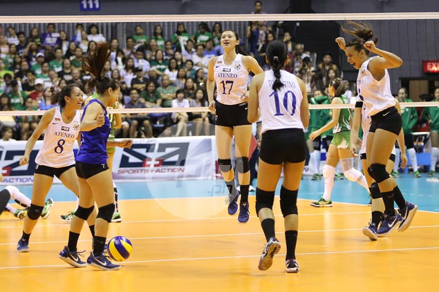 Ateneo Lady Eagles repeat over La Salle Lady Spikers to clinch top seeding in Final Four