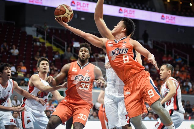 Baser Amer sustains fine play as Meralco gets back on winning track, deals Alaska's first loss