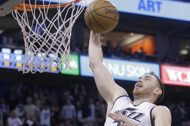 Gordon Hayward scores career-high 39 points as Jazz defeat Timberwolves