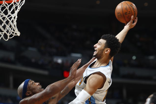 Rookie Jamal Murray has career-high 30 as Nuggets keep playoff hopes alive with win over Pelicans