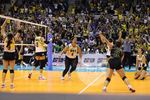 UAAP women's volley Final Four cast complete as UST Tigresses dispose of NU Lady Bulldogs