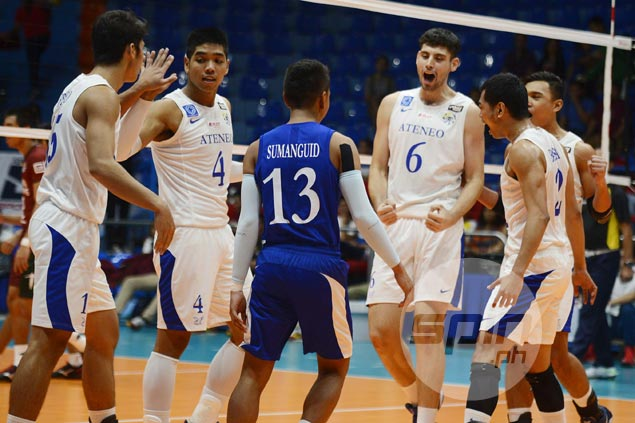 Ateneo clobbers NU to complete elims sweep, advance to finals of UAAP volley