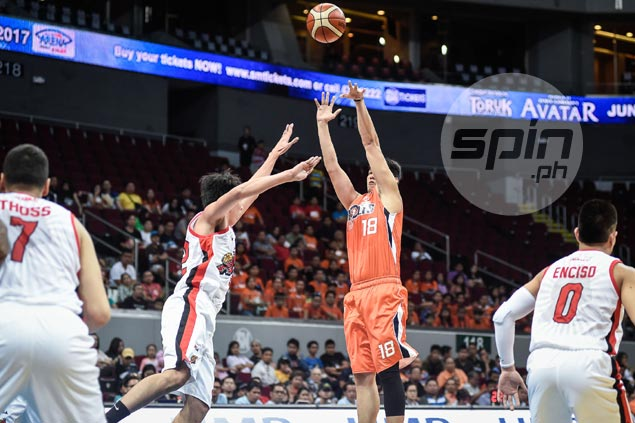 Justin Chua repays Norman Black's trust with career-game, decent defense on Cory Jefferson