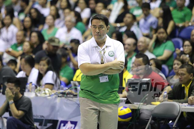 Ramil de Jesus hopes La Salle picks up the pieces quick in time for Final Four after Ateneo loss