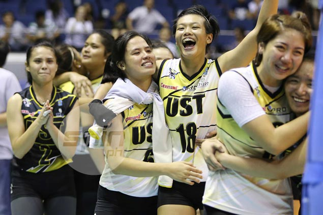 Pam Lastimosa cherishes return to Final Four in final season with UST Tigresses