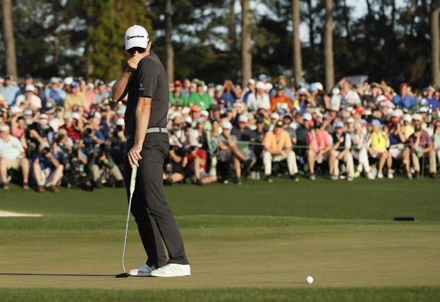 Justin Rose not beating himself up after coming up just short at Augusta