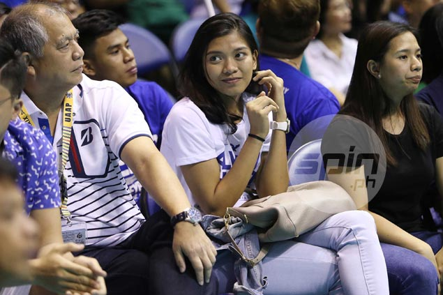 Playing a lot easier than watching for former UAAP rivals Alyssa Valdez, Mika Reyes