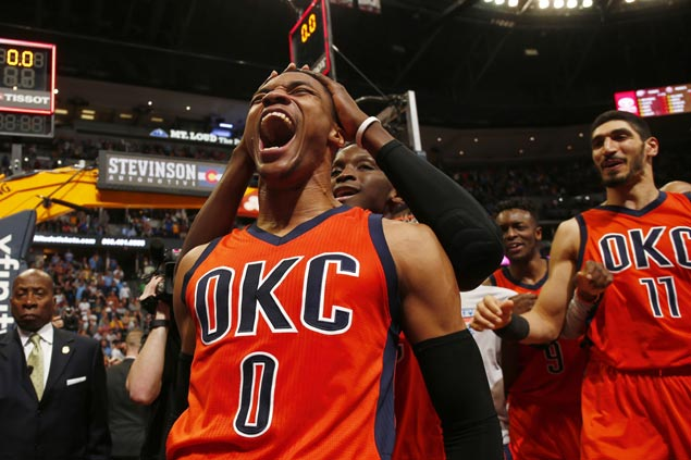 Russell Westbrook bolsters case for MVP with three milestones, game-winner vs Nuggets