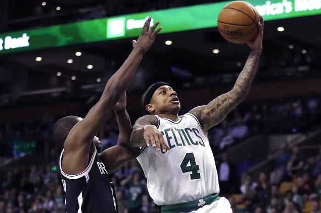 Celtics regain top spot in Eastern Conference with victory over Nets