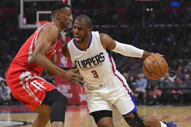 Streaking Clippers shut down Rockets gunners to stay tied with Jazz for West fourth seed