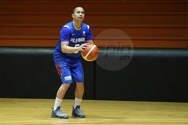 Almond Vosotros making most of chance with Gilas Pilipinas, stint as TNT practice player