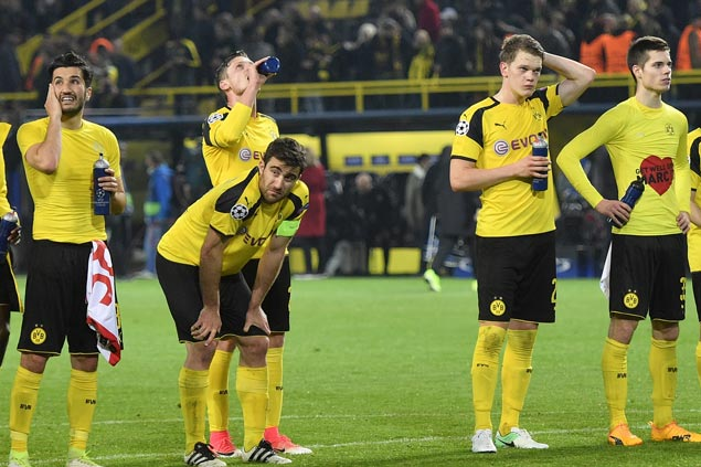 Dortmund annoyed it was forced to play a day after blasts but Uefa says team agreed