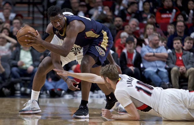 Pelicans end five-game skid, bow out of season with win over Blazers