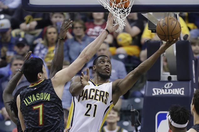 Pacers wind up No. 7 in the East with huge victory over Hawks