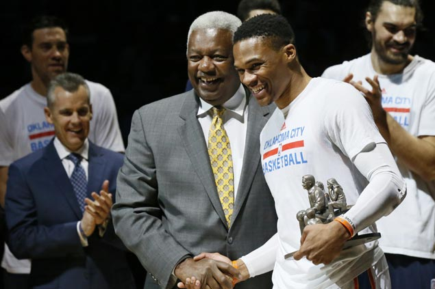 Oscar Robertson backs OKC Thunder star Russell Westbrook for NBA MVP
