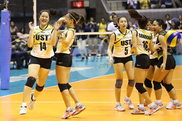 Calm before storm: UST Tigresses get deserved break before first semis appearance in four years