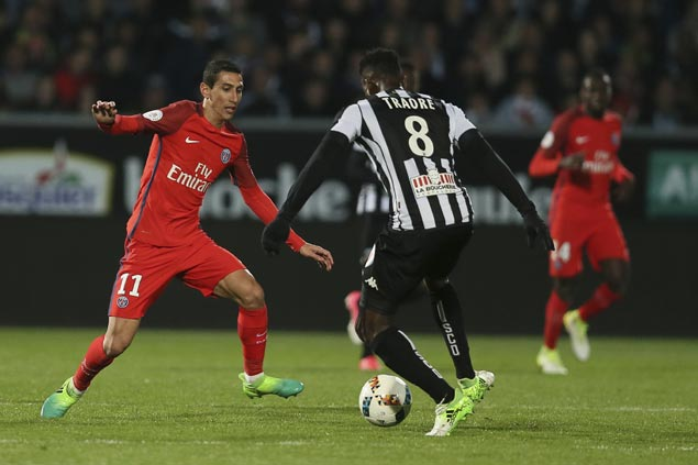 Angel Di Maria nets brace as PSG win over Angers ups pressure on Ligue 1 leader Monaco