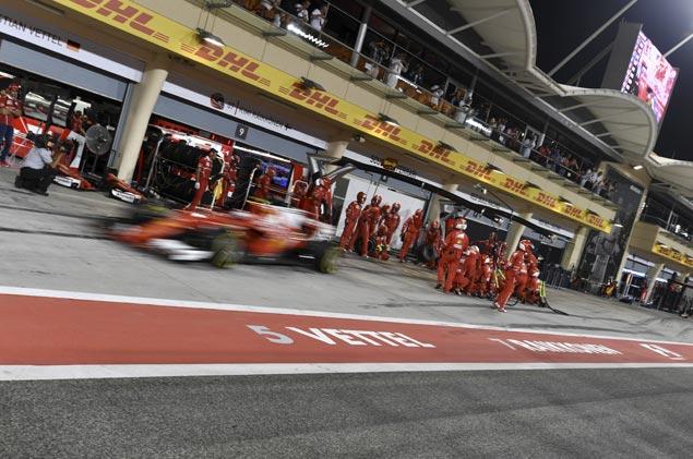 Confidence brewing at Ferrari as Sebastian Vettel records two wins in first three Grands Prix