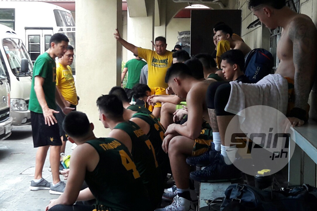 FEU coach Olsen Racela gets feet wet as Tamaraws plunge into action in preseason