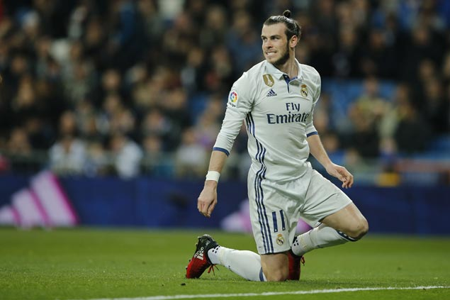 Gareth Bale ruled out of Real Madrid's Champions League game against Bayern