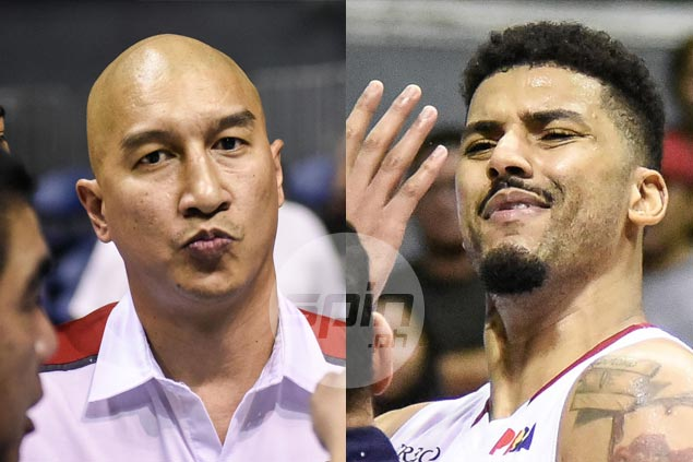 Nic Belasco fined P40,000, import Shawn Taggart slapped 30K penalty for fighting