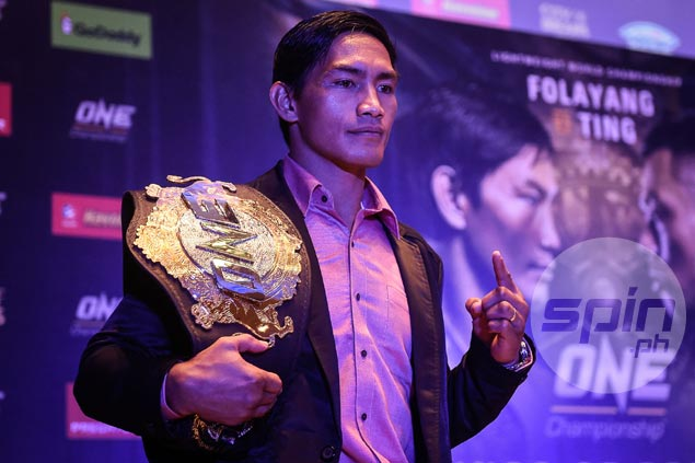 ONE lightweight champ Folayang looks to end Ev Ting's run of success vs Pinoy fighters