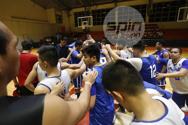 Chot Reyes staying patient with 'slow process' in the early days of Gilas training