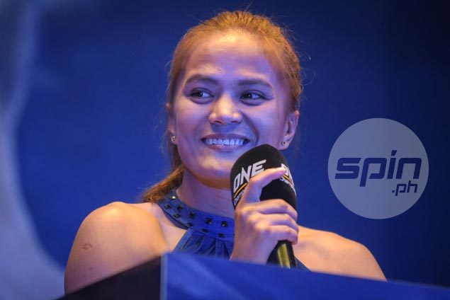 Filipina MMA prospect Gina Iniong to let fighting skills do the talking in ONE debut