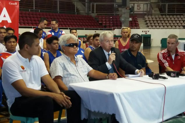 Canada wheelchair basketball team holds coaching and player clinics in Philippines