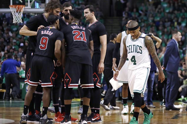 'Locked-in' Bulls not surprised to take home 2-0 lead against befuddled Celtics
