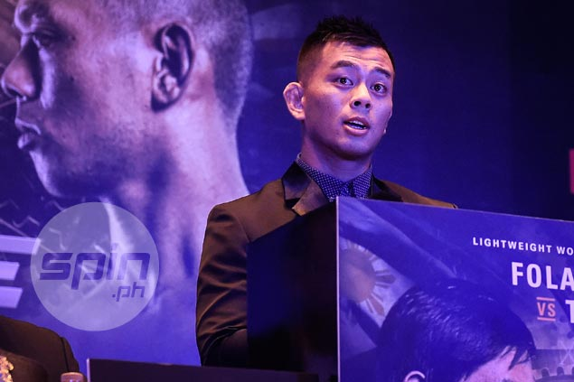 Ev Ting looks back at life-changing decision to delve in MMA ahead of title fight vs Folayang