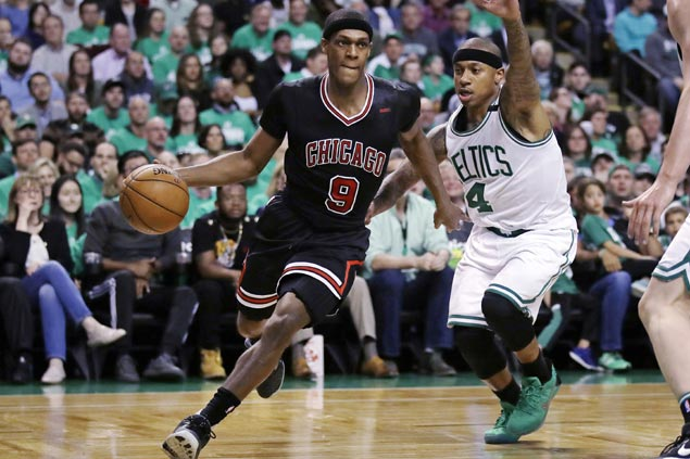 Oh dear: Bulls declare Rajon Rondo out indefinitely due to fractured right thumb