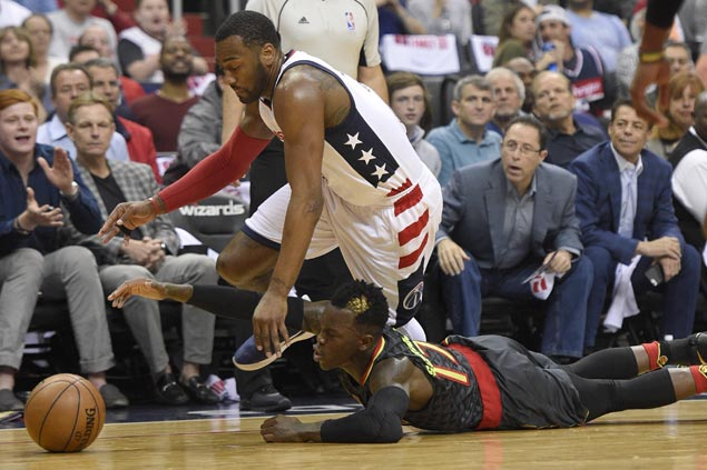 Wizards rally to beat Hawks for two-game lead in first round series