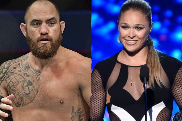 UFC star Ronda Rousey gets engaged to fellow MMA fighter Travis Browne
