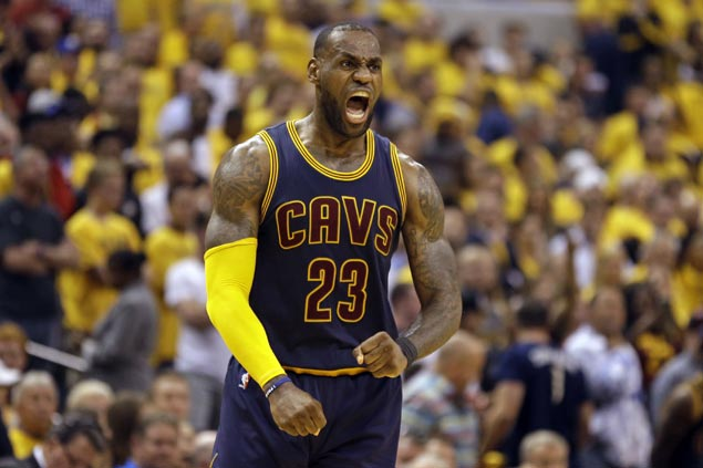 LeBron James shows who's King with two more postseason milestones in historic win vs Pacers