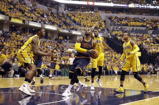 LeBron James leads Cavs to set historic second-half comeback in playoffs over stunned Pacers